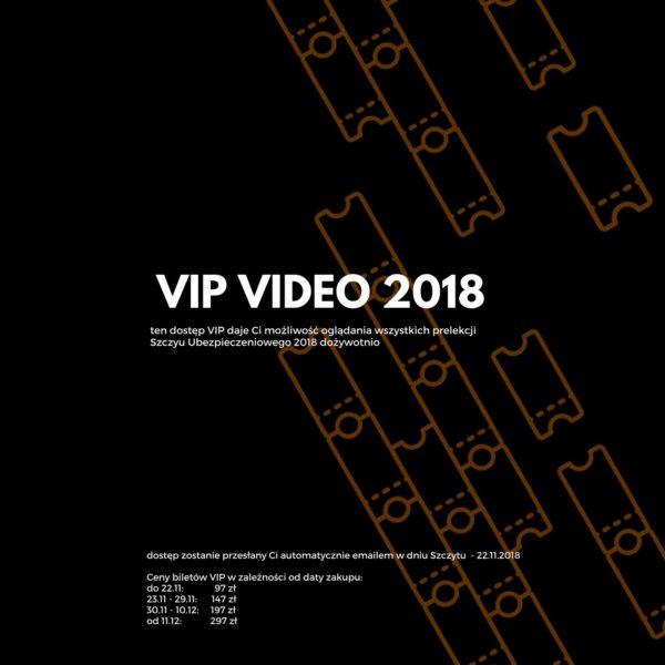 Ceny VIP VIDEO ze Szczytu Ubezpieczeniowego 2018